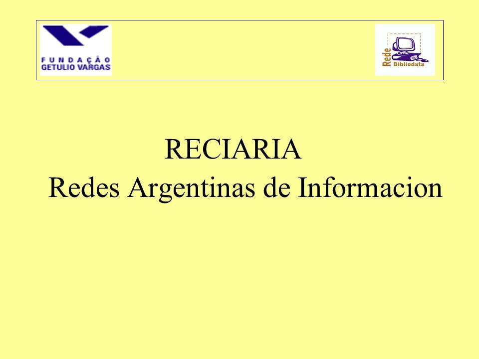Redes Argentinas de Informacion