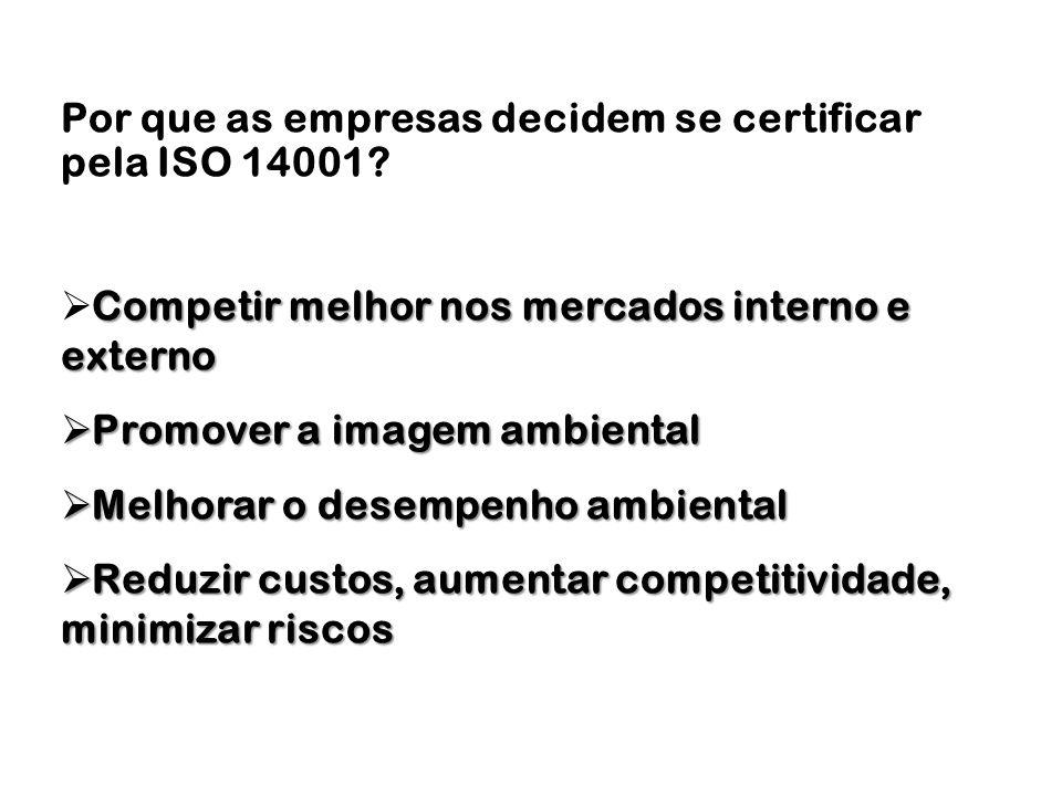 Por que as empresas decidem se certificar pela ISO 14001