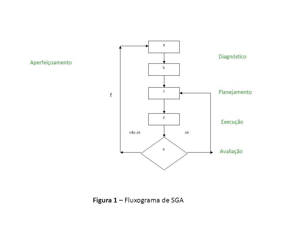 Figura 1 – Fluxograma de SGA