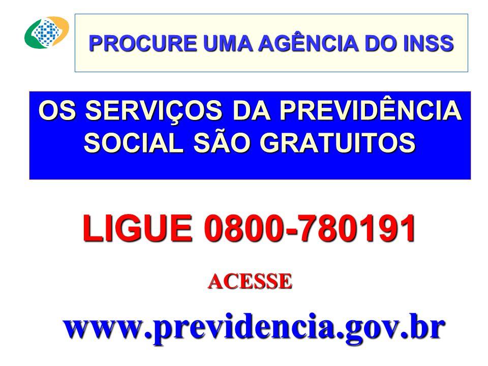PROCURE UMA AGÊNCIA DO INSS