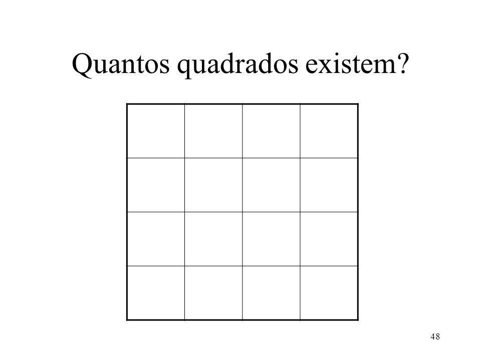 Quantos quadrados existem