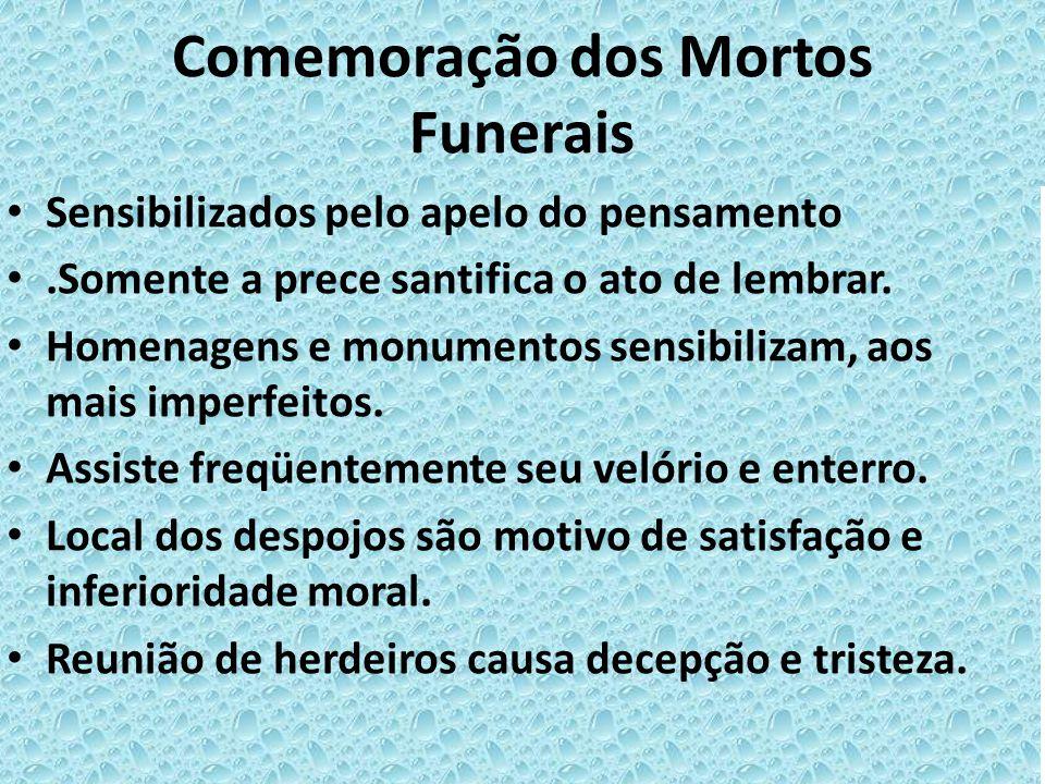 Comemoração dos Mortos Funerais
