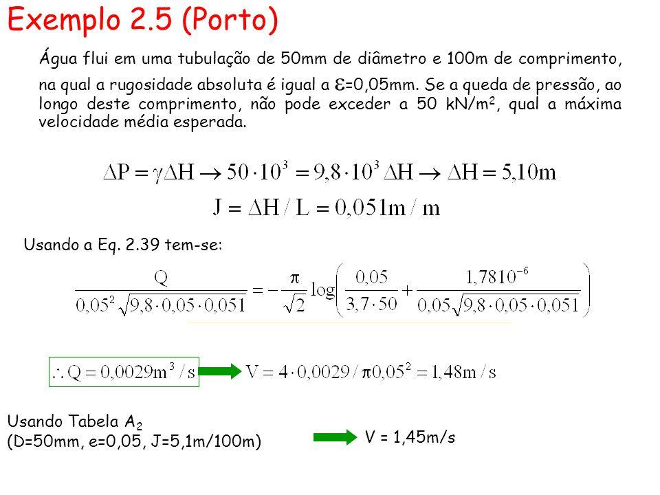 Exemplo 2.5 (Porto)