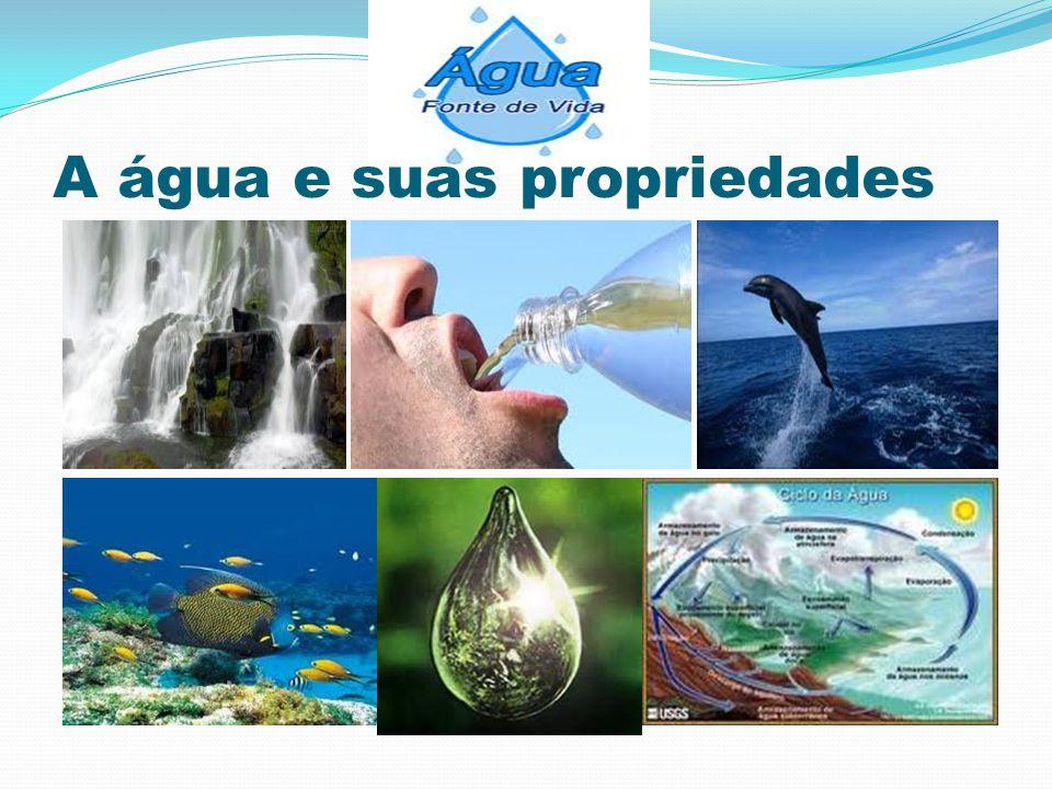 A água e suas propriedades
