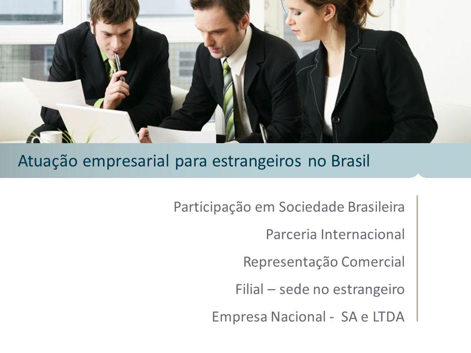 Atuação empresarial para estrangeiros no Brasil