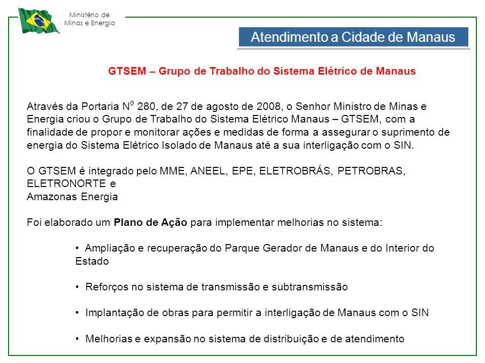 Atendimento a Cidade de Manaus