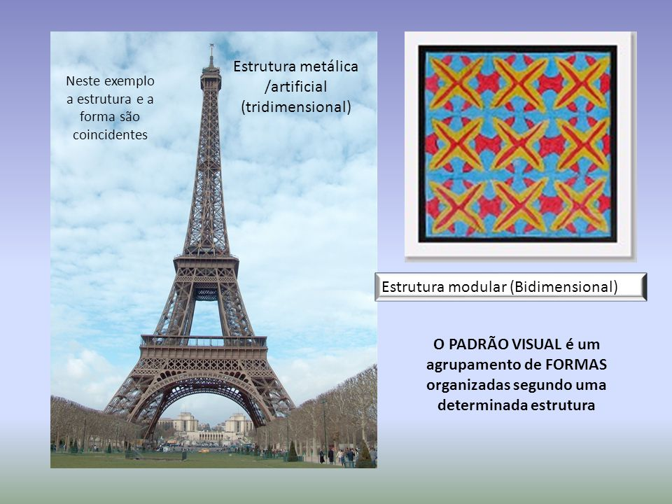 Estrutura metálica /artificial (tridimensional)