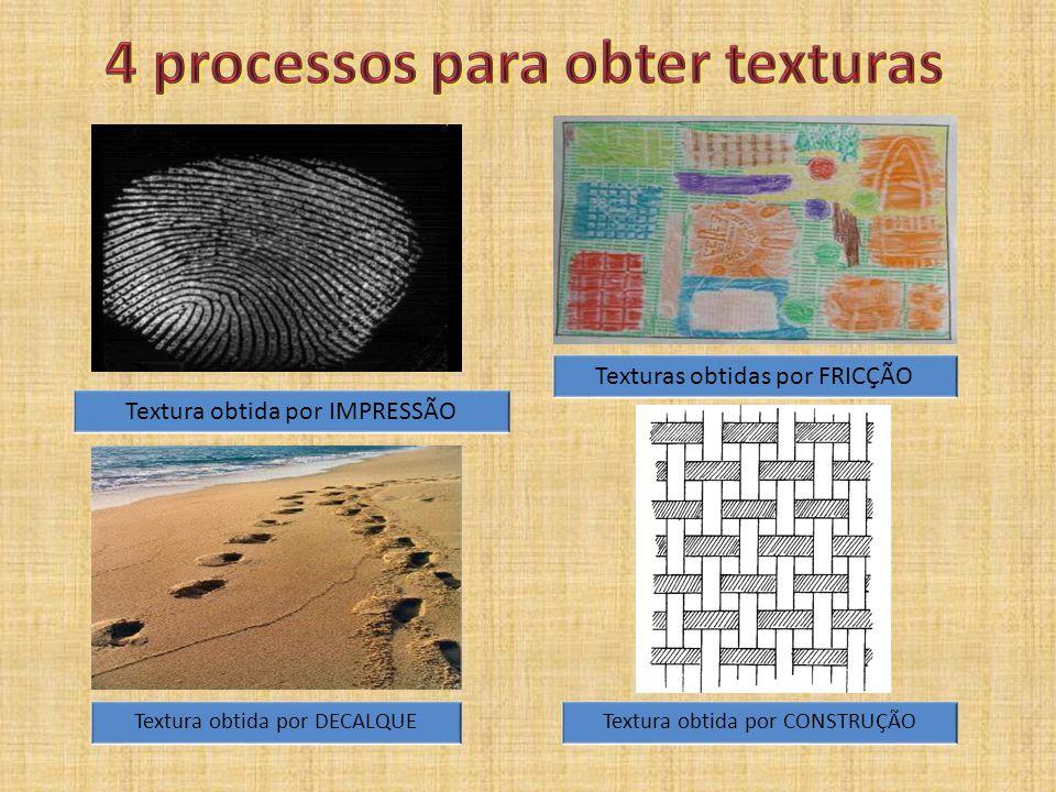 4 processos para obter texturas