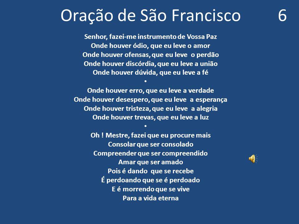 Oração de São Francisco 6