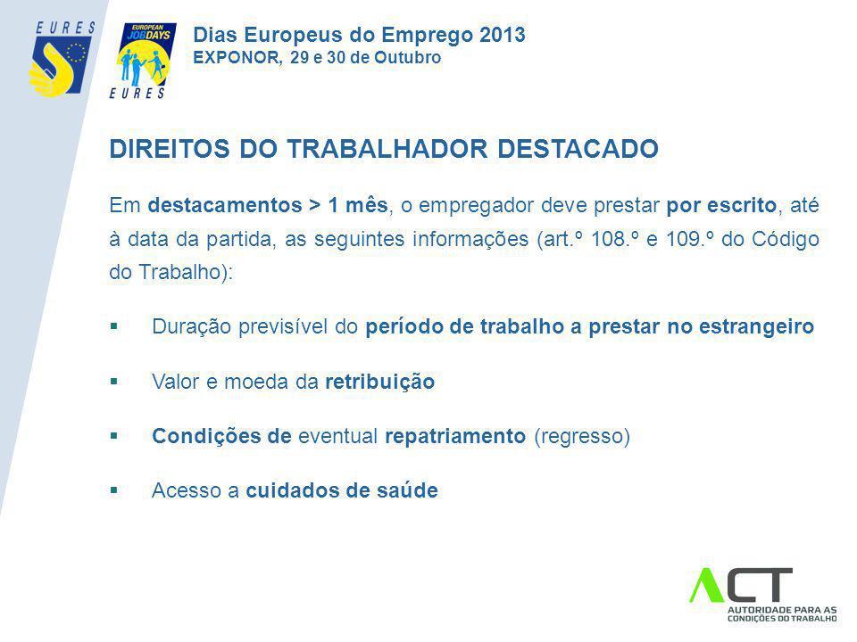 DIREITOS DO TRABALHADOR DESTACADO