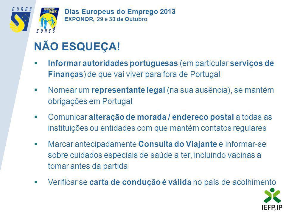 Dias Europeus do Emprego 2013