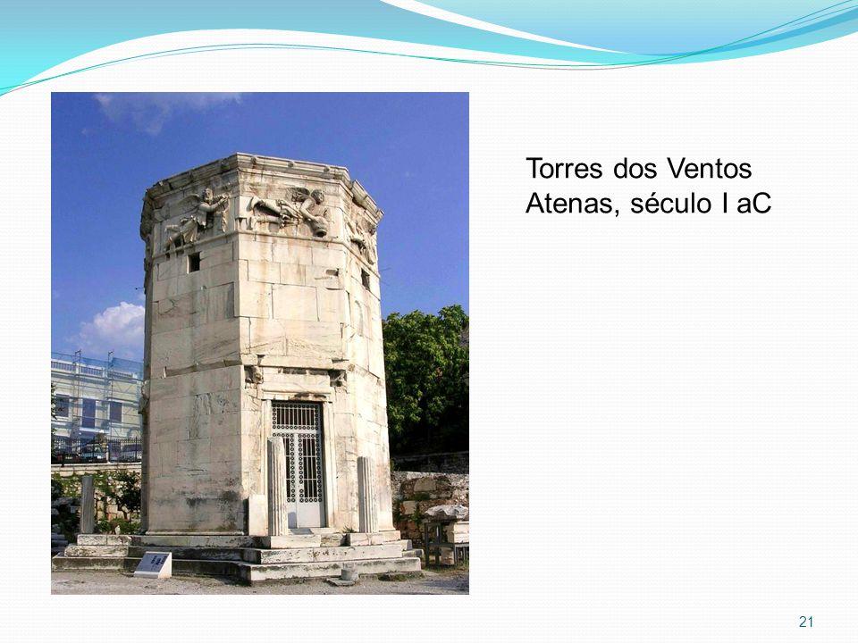 Torres dos Ventos Atenas, século I aC