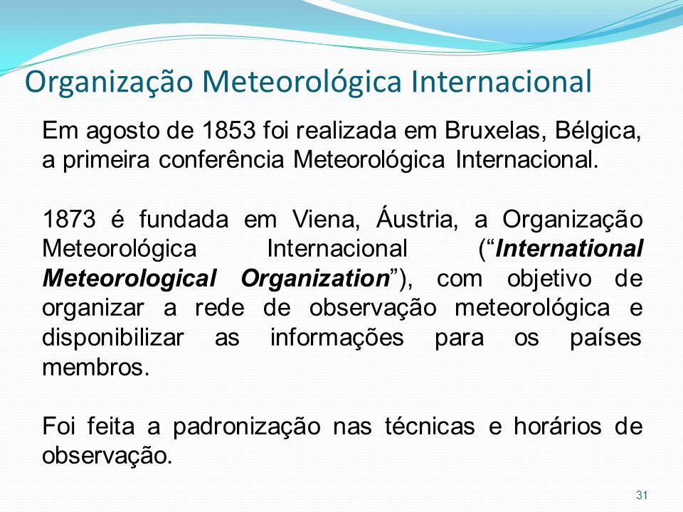 Organização Meteorológica Internacional