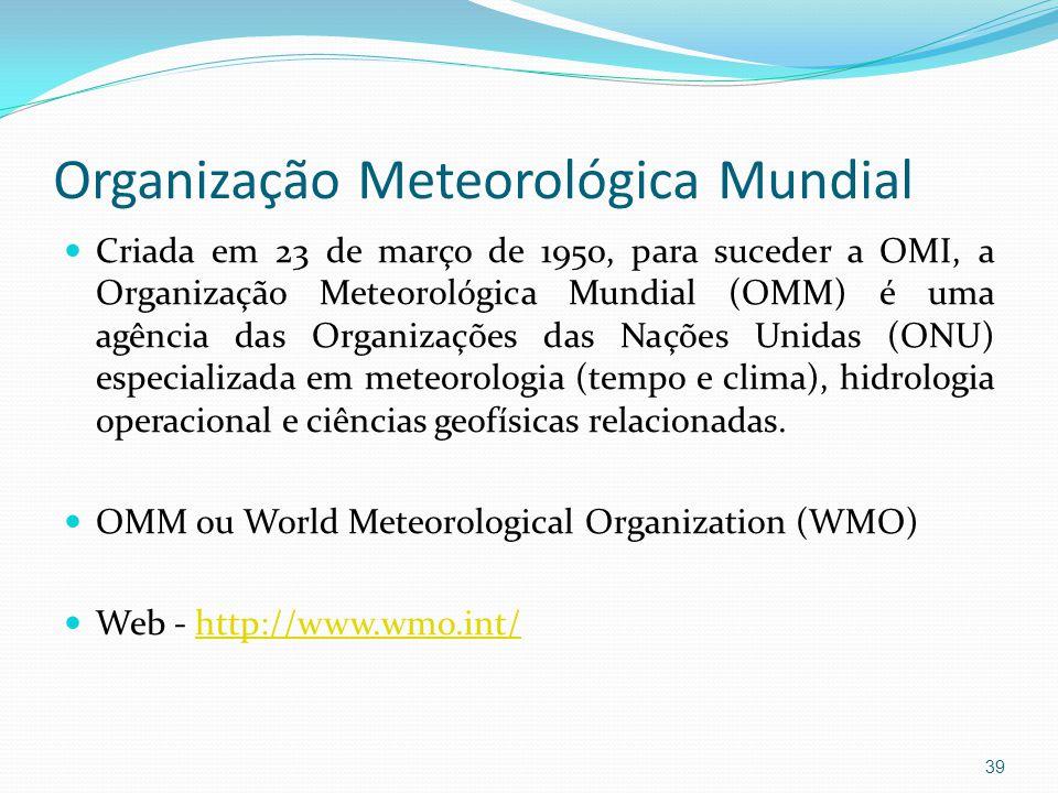 Organização Meteorológica Mundial