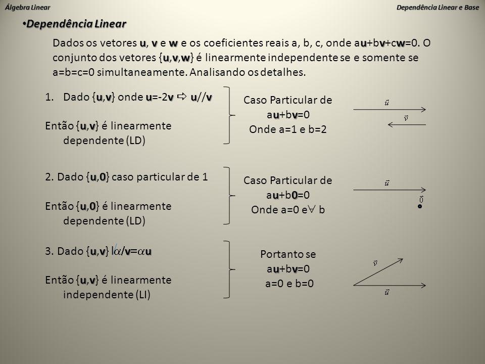 Dependência Linear