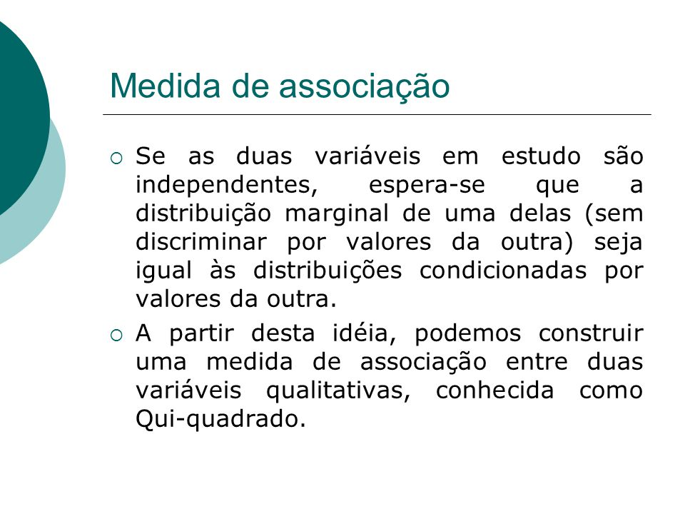 Medida de associação