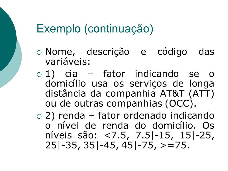 Exemplo (continuação)