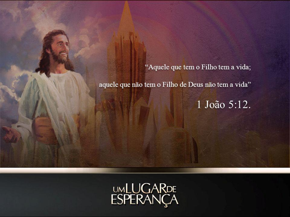 1 João 5:12. Aquele que tem o Filho tem a vida;