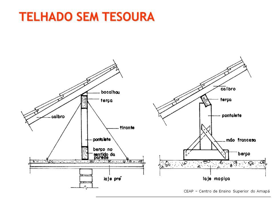 TELHADO SEM TESOURA CEAP – Centro de Ensino Superior do Amapá