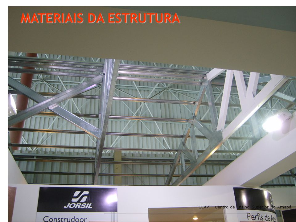 MATERIAIS DA ESTRUTURA