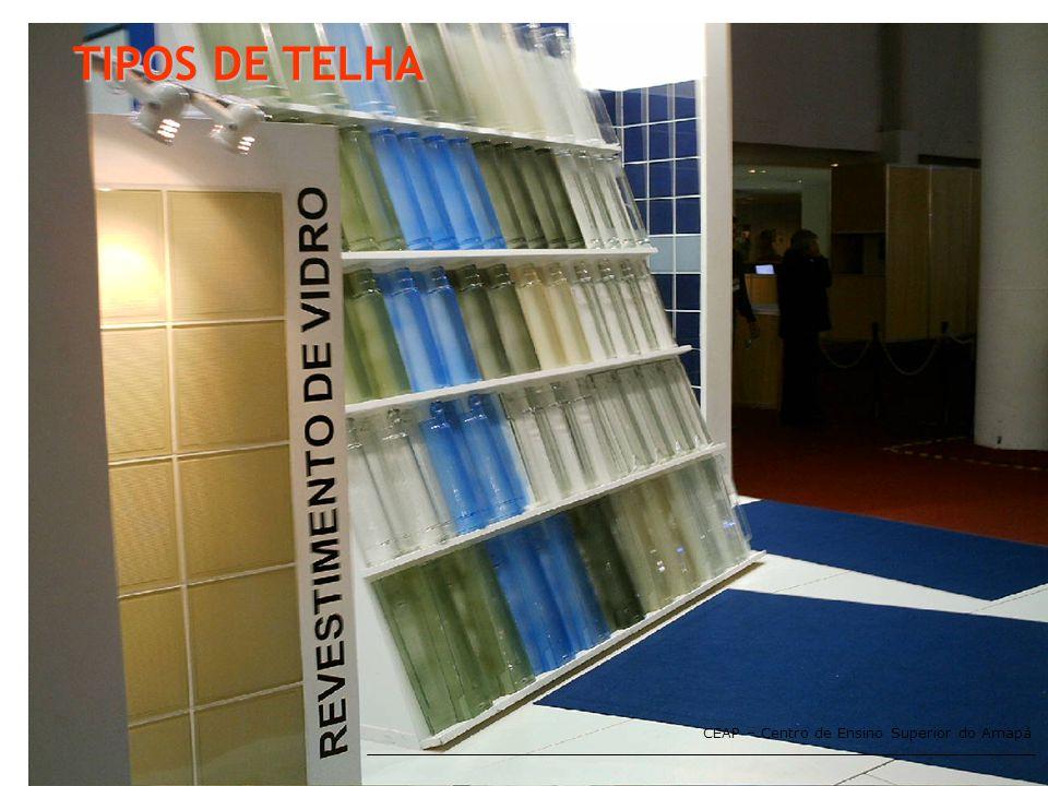 TIPOS DE TELHA CEAP – Centro de Ensino Superior do Amapá