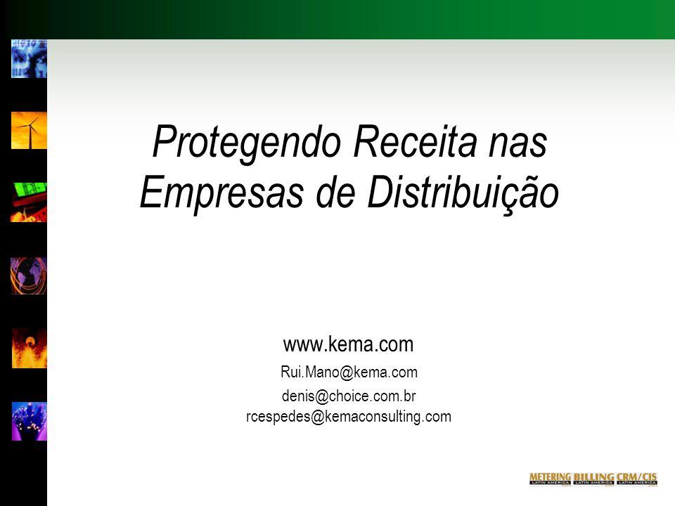 Protegendo Receita nas Empresas de Distribuição