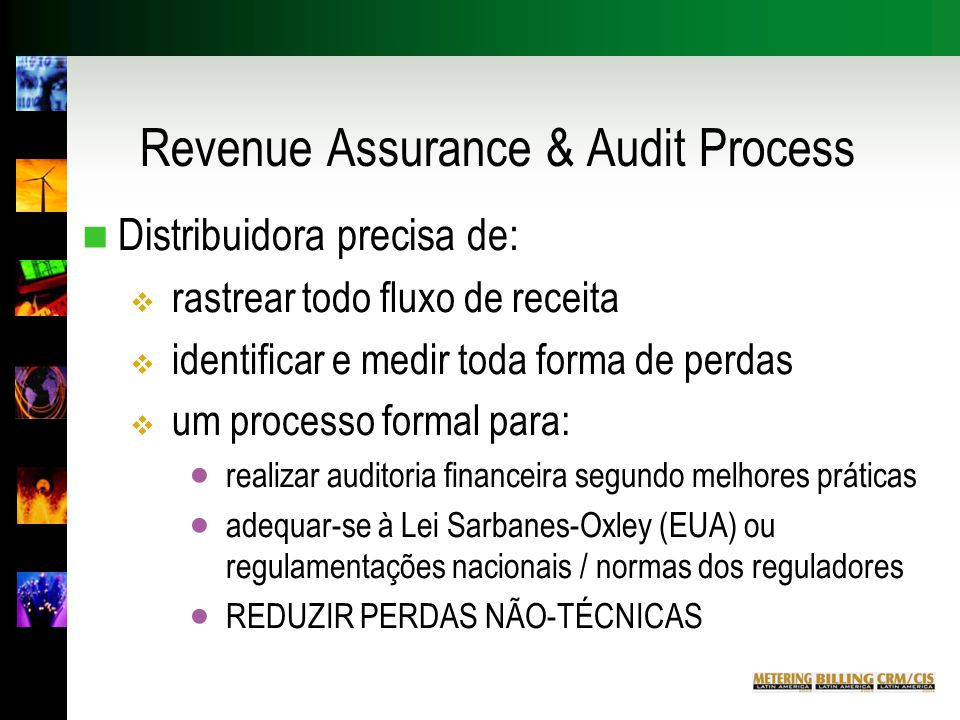 Revenue Assurance & Audit Process
