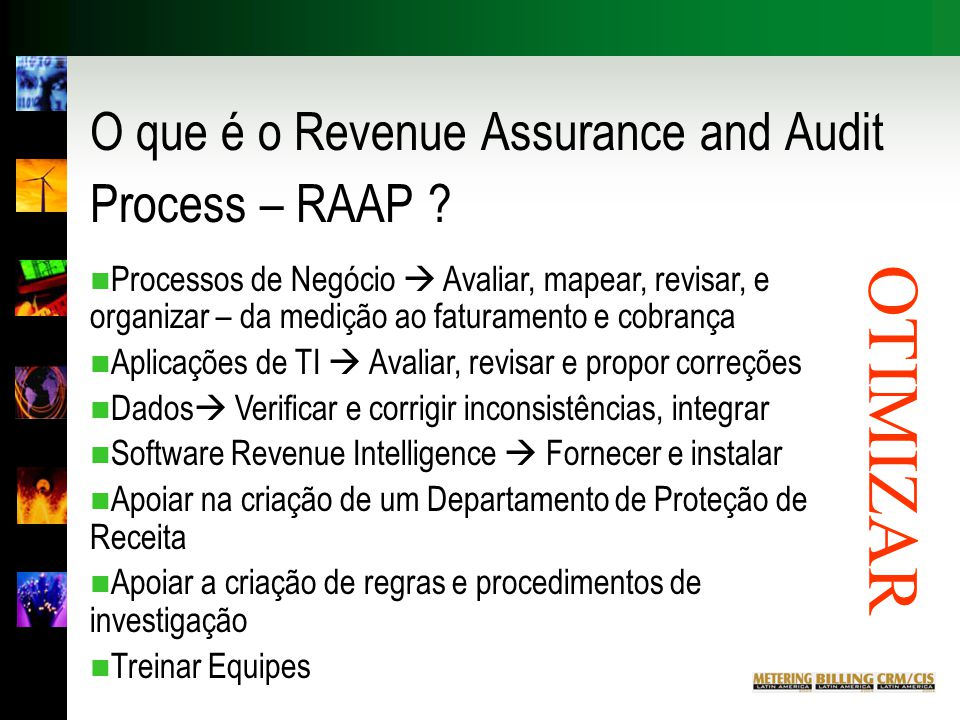 O que é o Revenue Assurance and Audit Process – RAAP