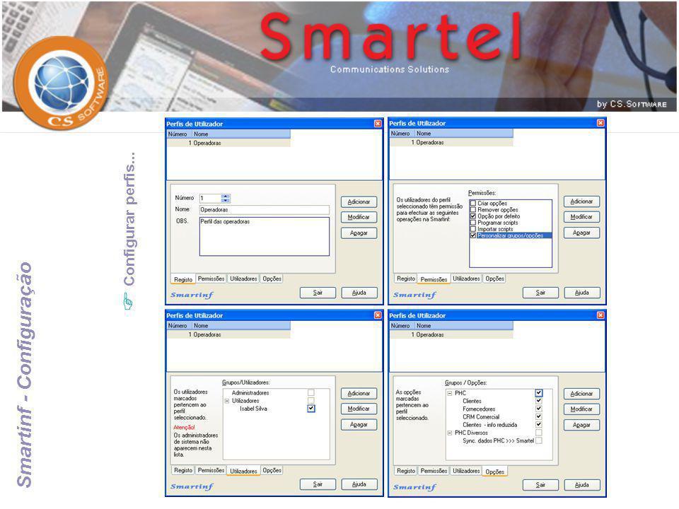 Smartinf - Configuração
