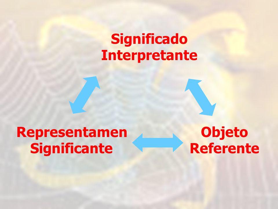 Significado Interpretante Representamen Significante Objeto Referente
