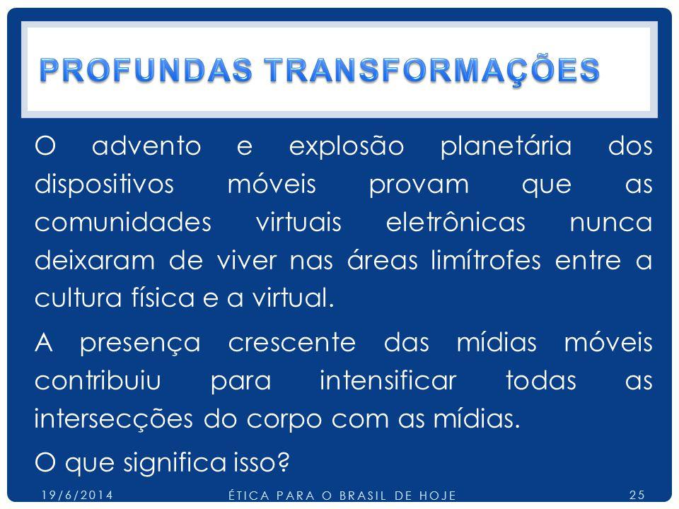 PROFUNDAS TRANSFORMAÇÕES