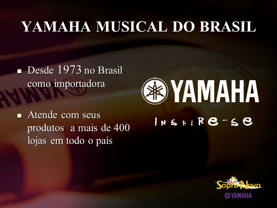 YAMAHA MUSICAL DO BRASIL