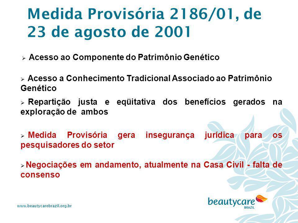 Medida Provisória 2186/01, de 23 de agosto de 2001