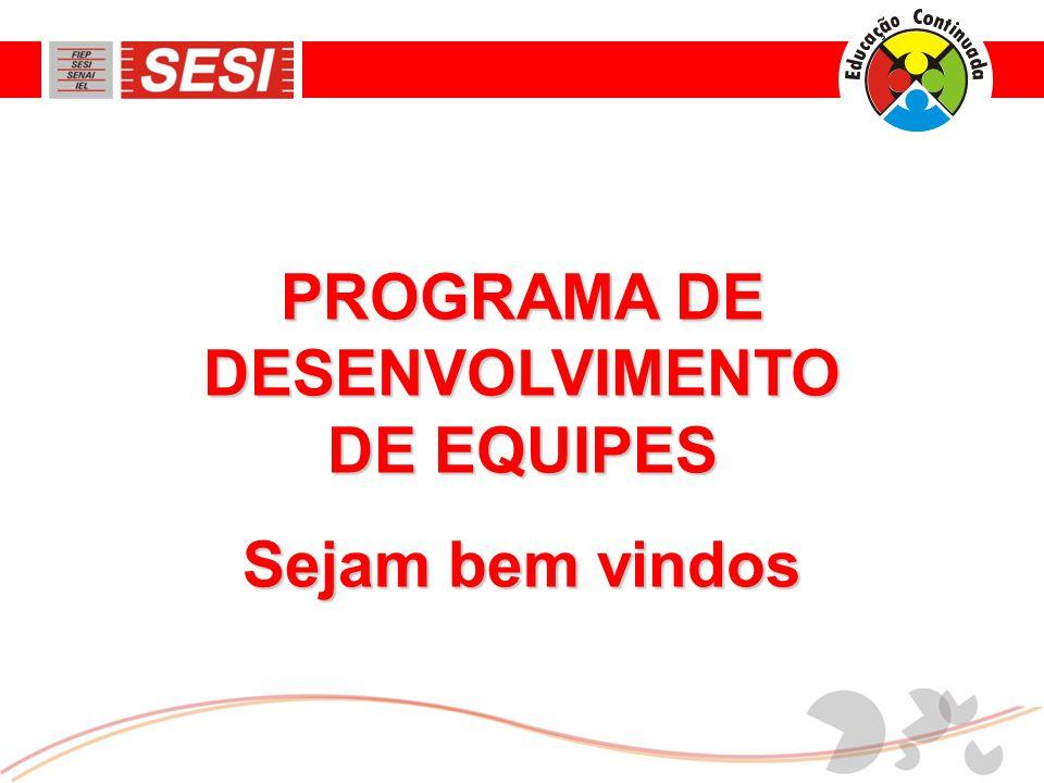 PROGRAMA DE DESENVOLVIMENTO DE EQUIPES