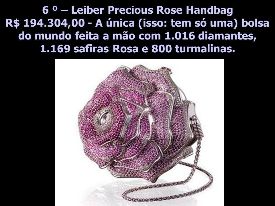 6 º – Leiber Precious Rose Handbag R$ 194