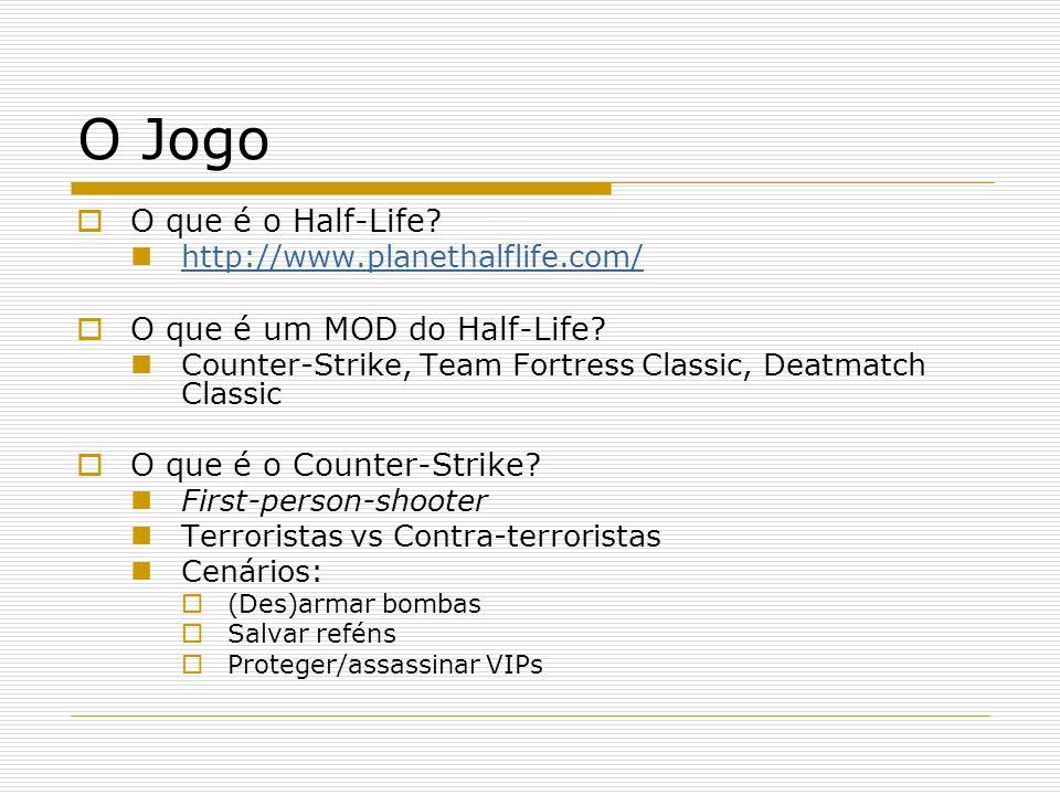 O Jogo O que é o Half-Life O que é um MOD do Half-Life