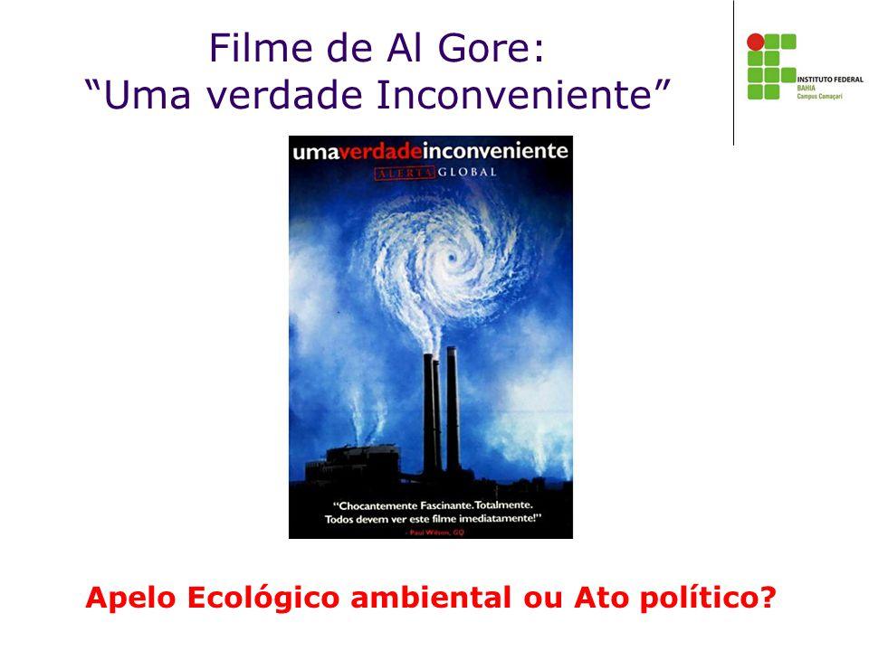 Filme de Al Gore: Uma verdade Inconveniente