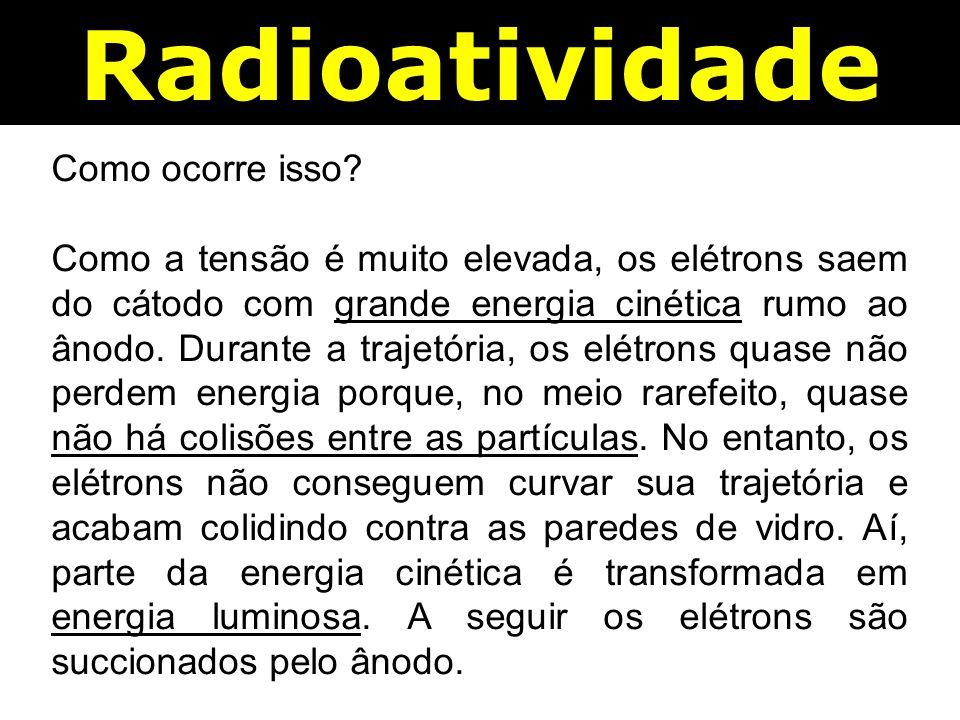 Radioatividade Como ocorre isso