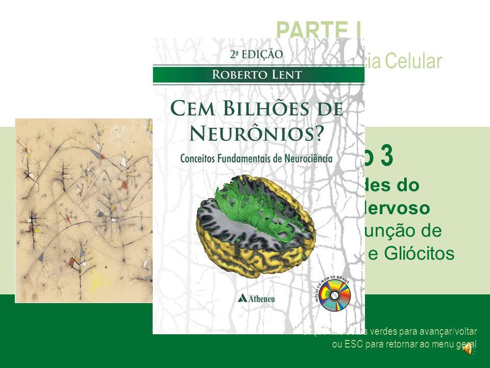 Capítulo 3 PARTE I Neurociência Celular As Unidades do Sistema Nervoso