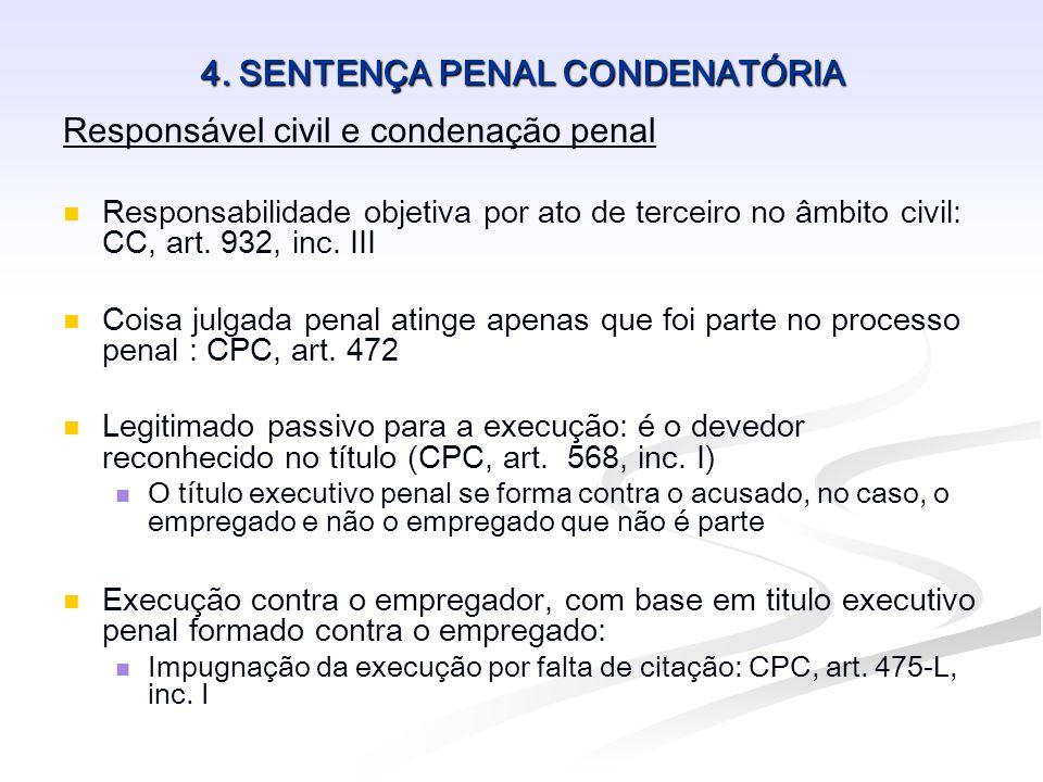 4. SENTENÇA PENAL CONDENATÓRIA
