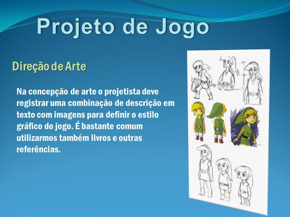 Projeto de Jogo Direção de Arte