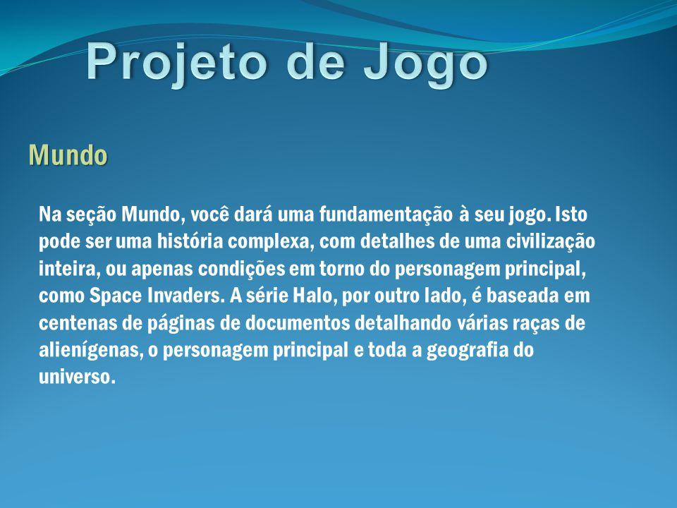 Projeto de Jogo Mundo.