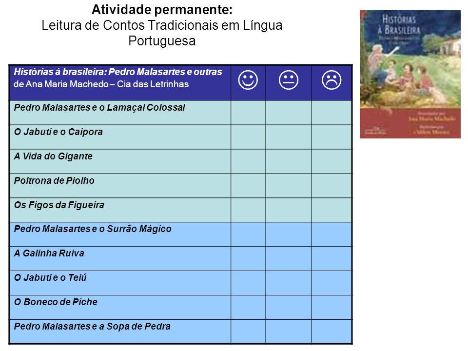 Atividade permanente: Leitura de Contos Tradicionais em Língua Portuguesa