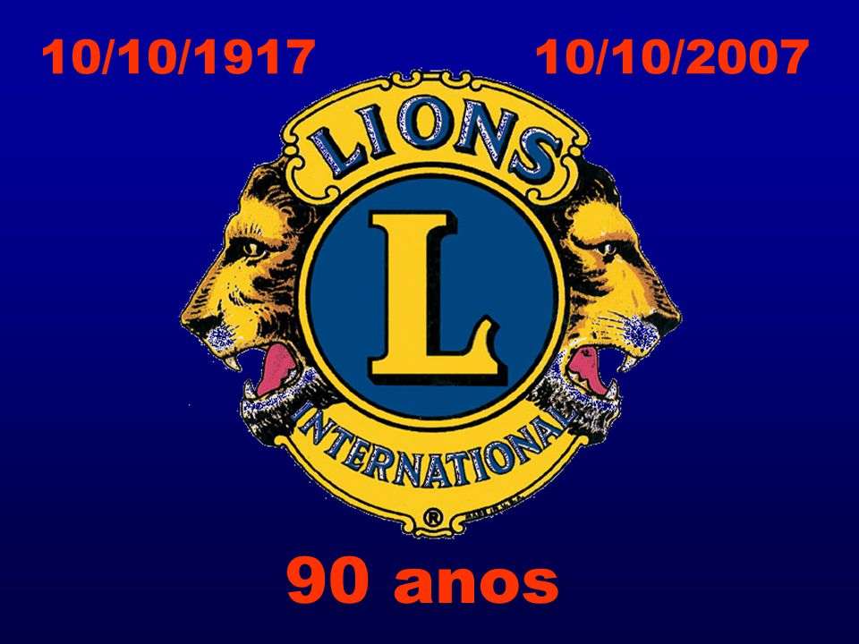 10/10/1917 10/10/2007 90 anos