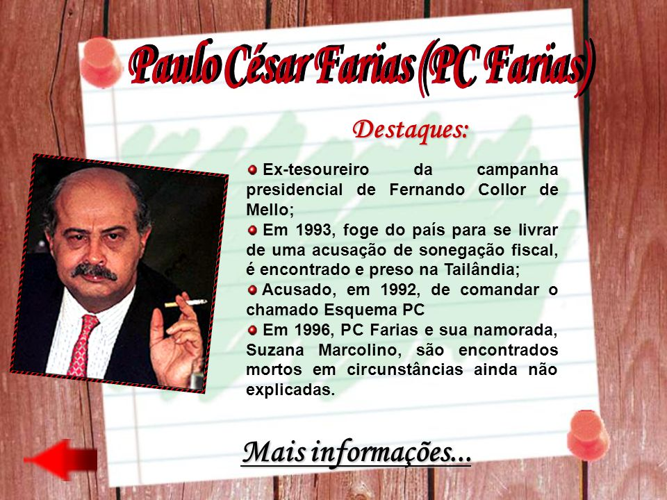 Paulo César Farias (PC Farias)