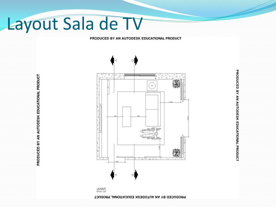 Layout Sala de TV