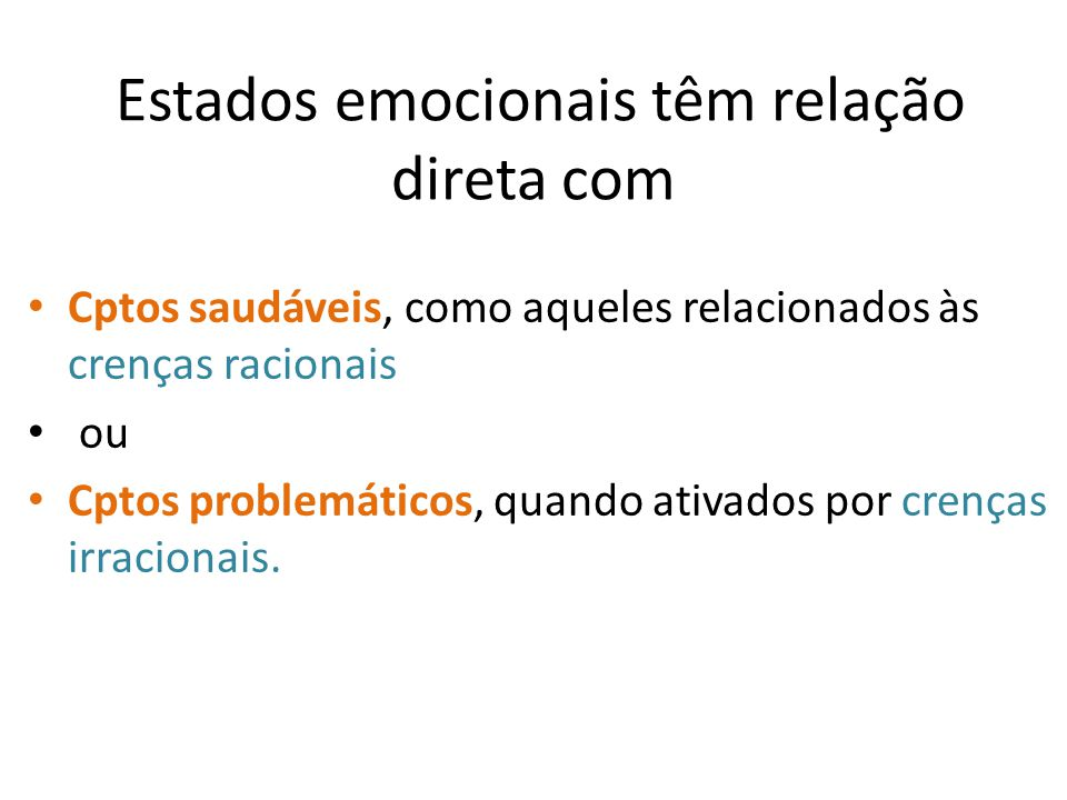 Estados emocionais têm relação direta com