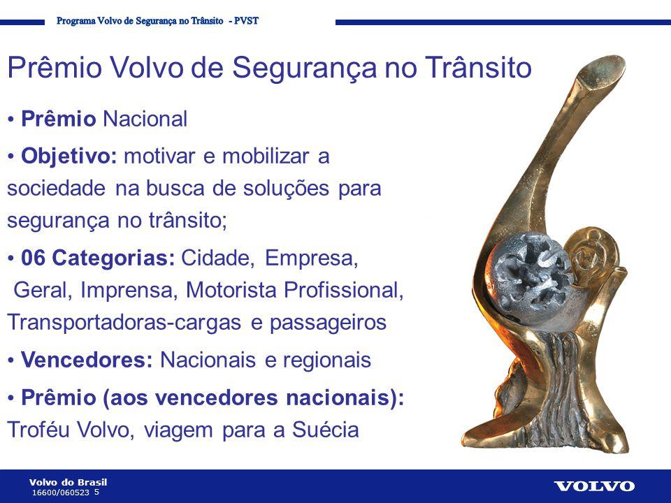 Prêmio Volvo de Segurança no Trânsito