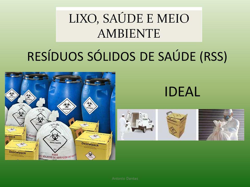 RESÍDUOS SÓLIDOS DE SAÚDE (RSS)