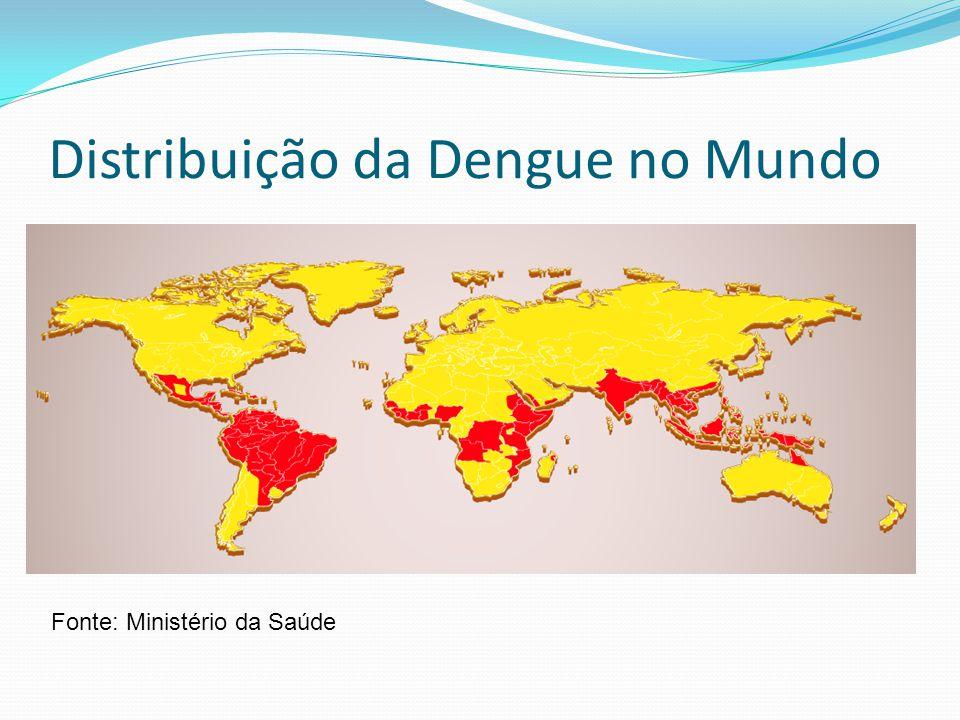 Distribuição da Dengue no Mundo